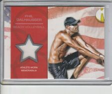 PHIL DALHAUSSER RELIC 2012 TOPPS OLYMPIC BEACH VOLLEYBALL