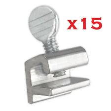 15x Sliding Window Locks Easy Installation High Security Home Lock Thumbscrews