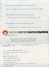 BRUCE BOXLEITNER BRING EM BACK ALIVE RARE ORIGINAL 1982 CBS TV PRESS MATERIAL