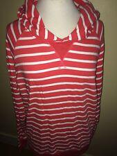 JOULES Paige 2 Stripe Sweatshirt Hoody Top Sz 16 FreeUKP&P