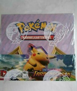 Pokemon Farbenschock Display 36 Booster - deutsch - OVP - Neu - ungeöffnet