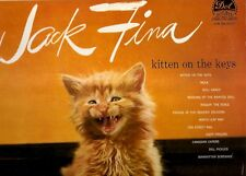 JACK FINA - KITTEN ON THE KEYS  1960 Dot DLP 3268 LP