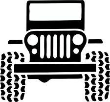 jeep family car sticker - dad sticker