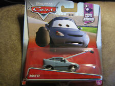 Disney PIXAR CARS MATTI  PISTON CUP REPORTERS SERIES