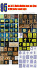 90+ pcs 3D STL Models Religion Jesus Icon Cross for CNC Router Artcam Aspire