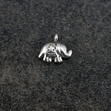 Thai Hill Tribe Silver Elephant Charm (HTCEL02)