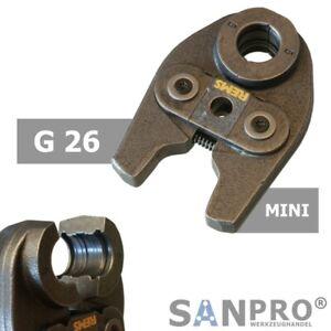 REMS MINI Pressbacke G26 Presszange Profil G 26 - Für Geberit Mepla Verbundrohr