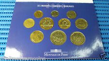 2000 France Monnaie de Paris Brilliant Uncirculated Coin Set