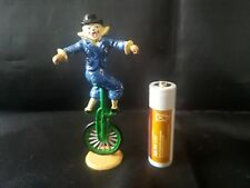 CHARBENS MIMIC SERIES -RARE Lead Circus Figurine. Clown on Unicycle!
