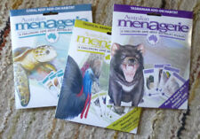 AUSTRALIAN MENAGERIE BOARD GAME - ADD-ON PACKS - SET of 3 PACKS -see description