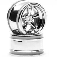 HPI Racing 3822 Vintage 5-Spoke Wheel 31mm Shiny Chrome (2) Sprint 2 / Nitro RS4