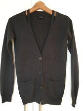 Teoria Cardigan Di Cashmere Ritaglio sulle spalle maglione Maglione P Petite XS S Piccolo