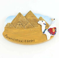 Pyramids Fridge Magnet Egypt Refrigerator Sticker 3D Resin Tourist Souvenir Gift