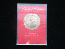 1972 San Diego Chargers Johnnie Walker Red Schedule Coin – Limited Edition!