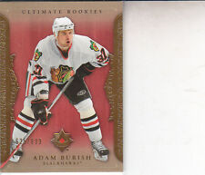 ADAM BURISH 2006-07 ULTIMATE COLLECTION HOCKEY 625/699