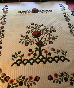 amish quilt handmade PA authentic Tree of Life
