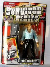 (NEW) 1999 Jakks Pacific WWF /SURVIVOR SERIES / GANGREL...