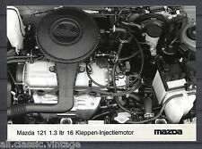 PRESS - FOTO/PHOTO/PICTURE - Mazda 121 1.3 16 Valve Engine