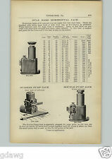1910 PAPER AD Oval Base Horizontal Jack Jacks Double Pump Dudgeon 250 Tons Joyce