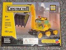 Excavator BricTek Building Block Construction Toy Digger