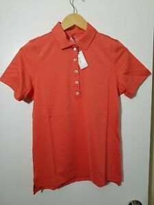 1 NWT PETER MILLAR WOMEN'S SHIRT, SIZE: SMALL, COLOR: CORAL (J47)