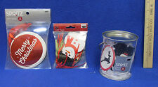 78 Christmas Gift Tags Assorted Styles Santa Snowman Red Green White Nos