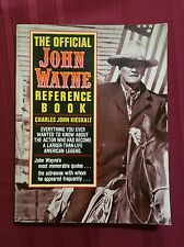 The Official John Wayne Reference Book by Charles J. Kieskalt and Kensington Pub