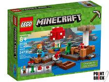LEGO 21129 MINECRAFT L'isola dei funghi - The Mushrooms Island