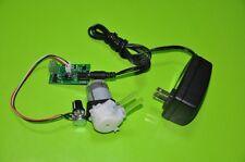 12V DC Dosing Pump Peristaltic Dosing Head Adjustable Speed For Aquarium Lab