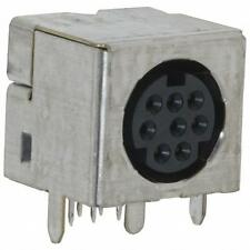 749267-1 TYCO Mini DIN 8 Pos Connector Receptacle Female Socket Solder Gold
