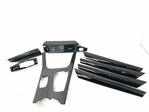 BMW X3 F25 Black Piano Interior Trim Strips Kit 2012 7237682 RHD