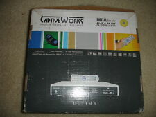 Used Captive Works Digital Satellite Receiver ULTIMA In Original Box