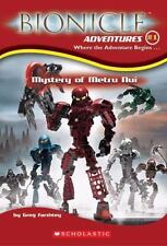 Mystery of Metru Nui book Greg Farshtey Bionicle Adventures Series Scholastic