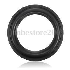 5'' Inch Black Soft Speaker Rubber Edge Surrounds Horn Speaker Ring Repair Kit