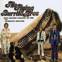 THE FLYING BURRITO BROTHERS - THE GILDED PALACE OF SIN & BURRITOS USED - VERY GO