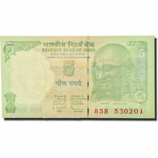 [#169836] ticket, India, 5 rupee, undated (1996-2002), km:88ac, new