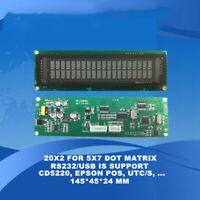 Tracking ID GC 6850 VFD Display Screen 20T201DA2 for Agilent MSD 5973N 5975