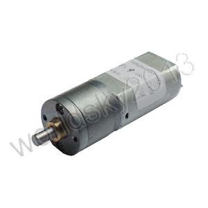 1pcs JGA20-180 DC6V 20-400RPM Full Metal Turbo Worm Gearbox Reduction Gear Motor
