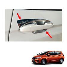 Door Handle Bowl Insert Cover Chrome 4 Pc Fit Honda Jazz Fit GK5 2014 - 2017