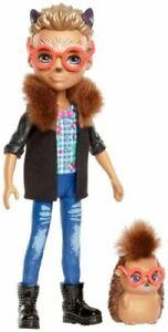 "Enchantimals Hixby Hedgehog & Pointer Doll 6"" New FJJ22"
