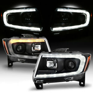 [Switchback]HID Xenon Projector Headlights For 2011-2013 Jeep Grand Cherokee