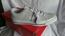 Converse CTAS Pale Grey Leather One Star Ox Trainers UK 7 Eu40