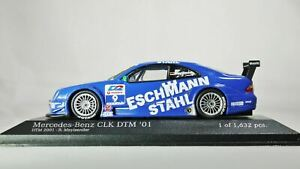 1/43 MINICHAMPS Mercedes-Benz CLK Coupe DTM 2001 Team Manthey No 9 B. Maylaender