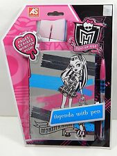 Monster High Agenda Diary Journal Book With Pen