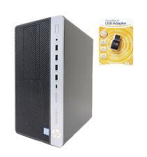 HP 600 G3 MT i7-6700 Quad 3.40-4.0GHz 16GB 512GB SSD 1TB AMD 2GB RX460 WIFI HDMI