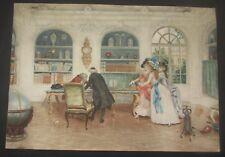Signé Rossi aquarelle papier format Lucius Rossi  (1823-1913) watercolor paper