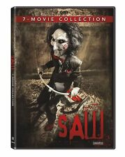SAW : THE COMPLETE 1 2 3 4 5 6 & 7 MOVIE COLLECTION unrated - DVD- NEW & SEALED