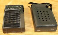 Vintage GE General Electric 6 Transistor Miniature Portable Radio w Case