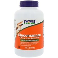 NEW NOW FOODS GLUCOMANNAN HEALTHTY METABOLISM DAILY BODY CARE SUPPLEMENT DIETARY
