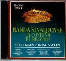 Banda Sinaloense La Costena El Recodo 20 Temas Originales    BRAND NEW SEALED CD